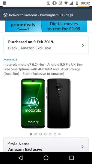 All Motorola Smartphone Discounts, Offers and Sale - October 12222