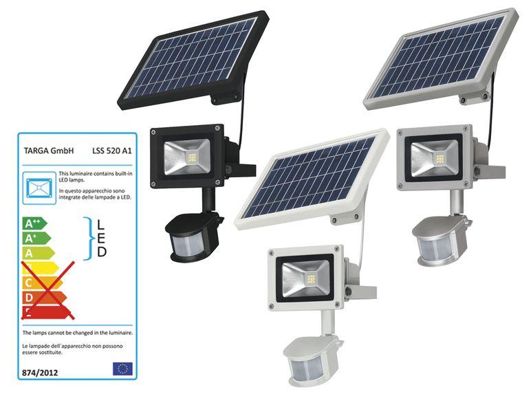 Livarno Lux Led Solar Light With Motion Sensor