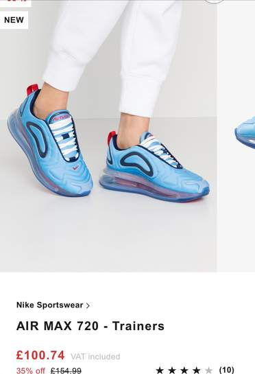 Nike Air Max 95 SE now £74.99 size 5.5 up to 14 + more