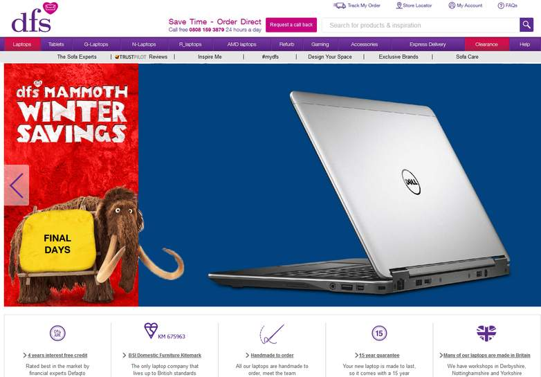 Dell dfs deals