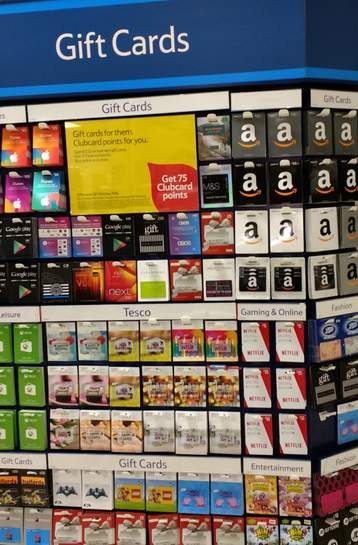 75 tesco clubcard points for 25 gift card purchase. Black Bedroom Furniture Sets. Home Design Ideas