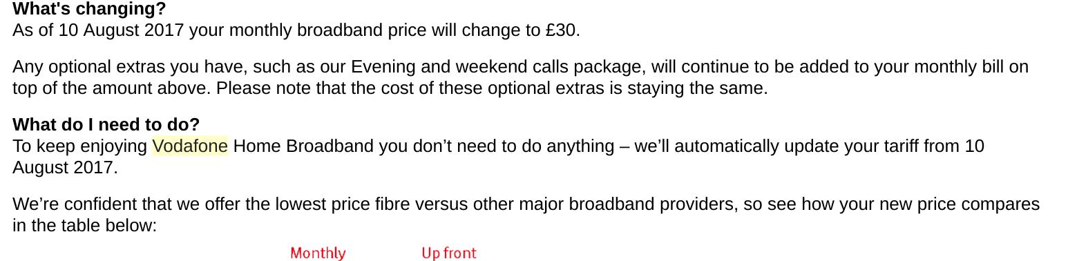Vodafone home broadband fibre optic 38mbps £20pm (or 76mbps £24pm