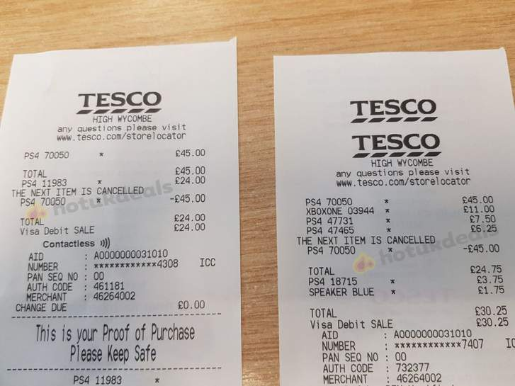 Good deals instore at tesco ps4 dualshock 4 controller giotech 33074344 ziecpg fandeluxe Choice Image