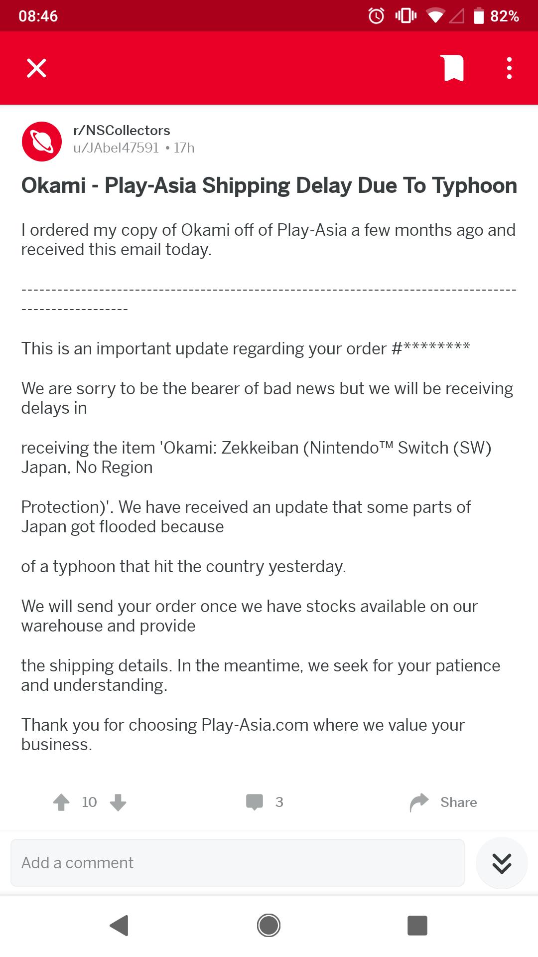 Okami HD - Nintendo Switch Physical Edition - £25 40 Play