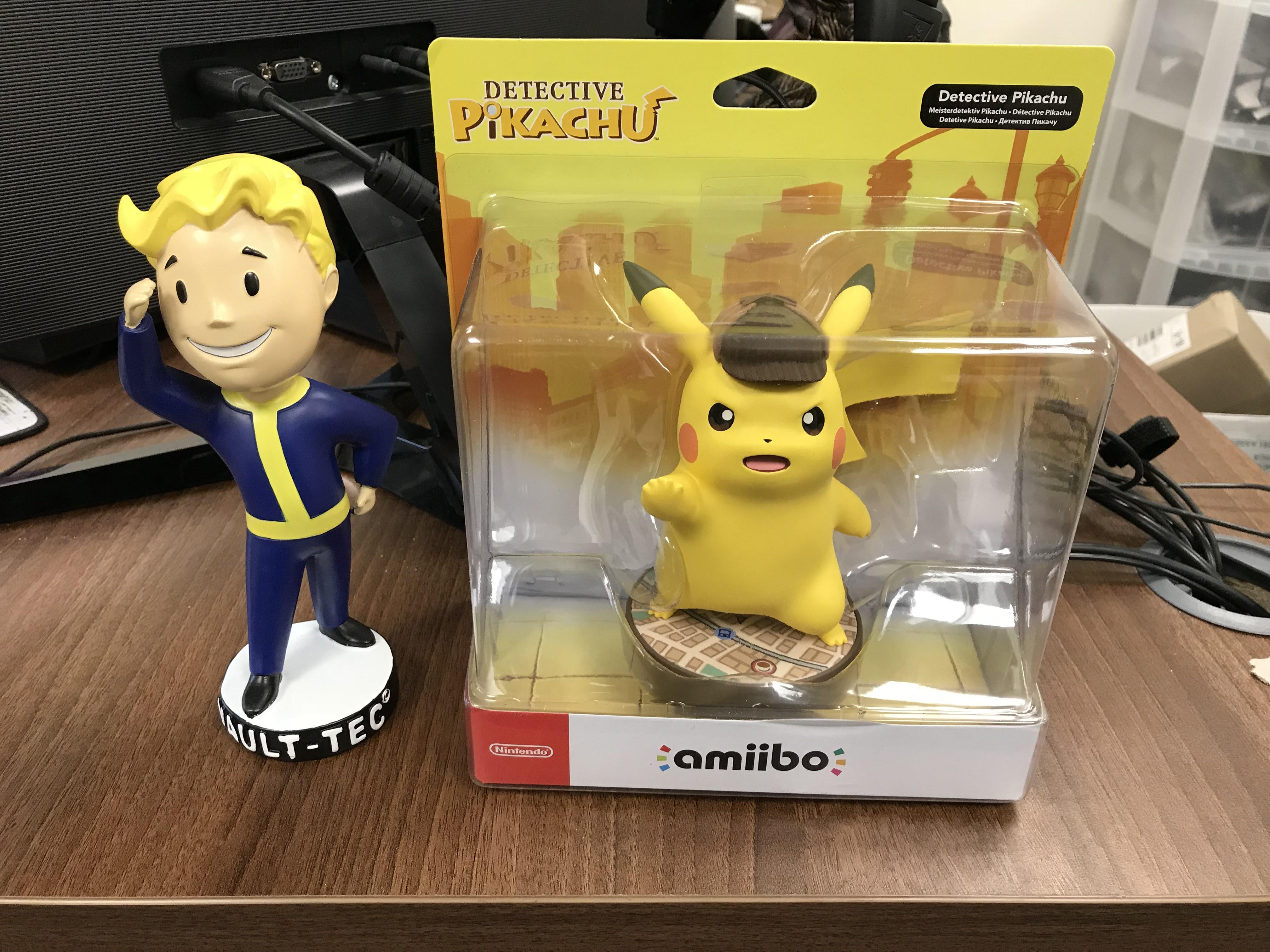 Detective pikachu amiibo 1499 argos hotukdeals 33498205 d9zceg fandeluxe Images