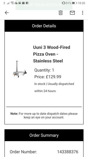 Ooni Wood Fired Portable Pizza Oven 17625 At Homebase