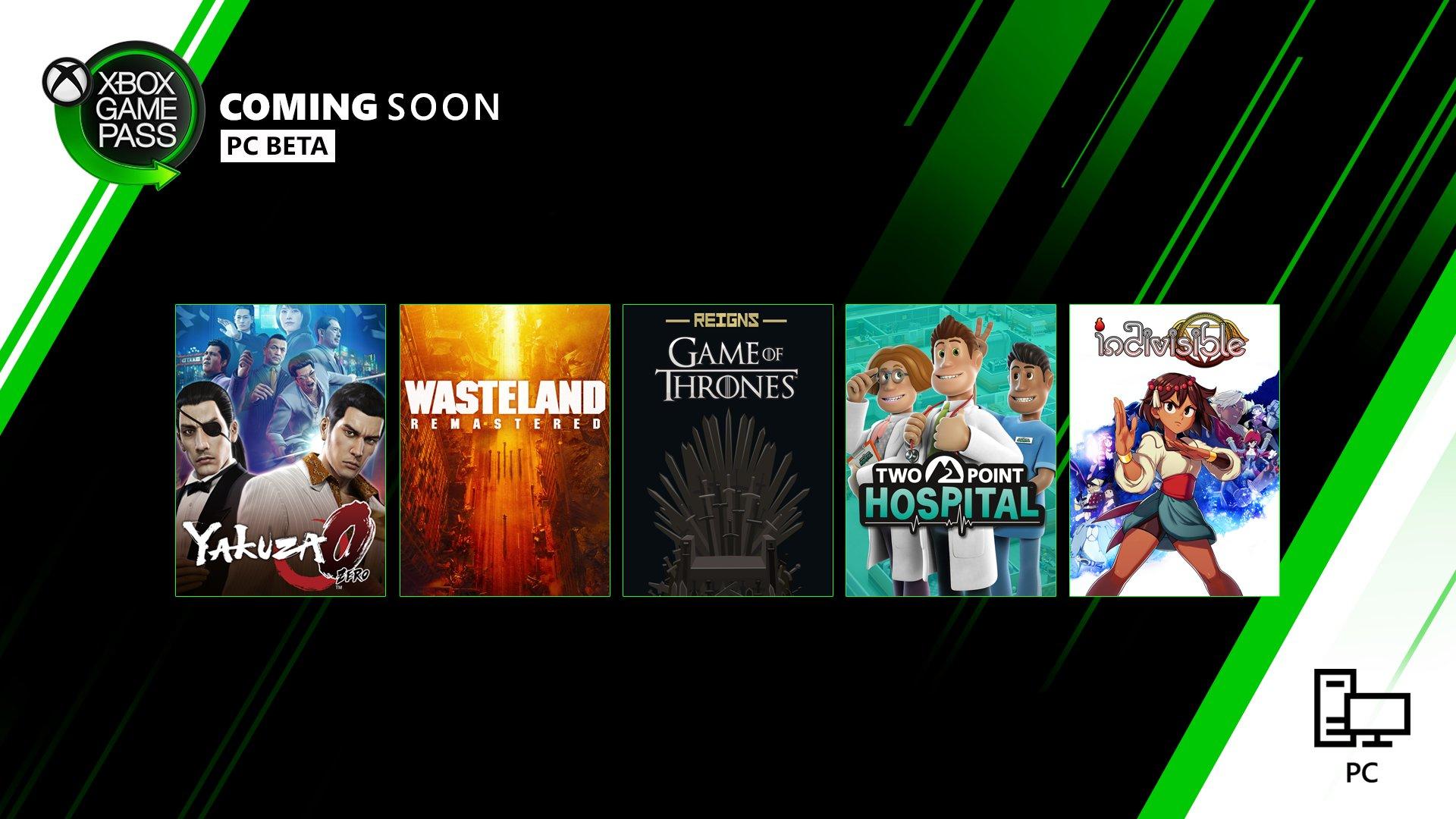 Xbox pass februāris PC
