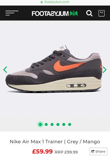 Airmax 1 all sizes from 6 up to 12 was £99.99 now £59.99 36638676-mkT3b.jpg 494e57dc1cd9