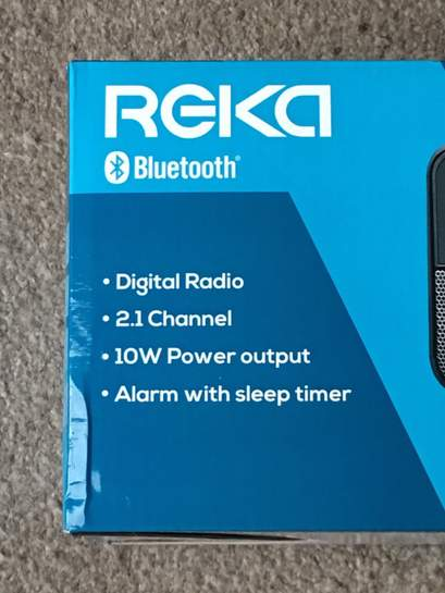 af7eb2a981d Reka DAB and FM bluetooth radio reduced to £9.99 at Aldi instore ...