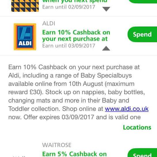 10 Off Your Next Shop At Aldi With Halifax Possibly Account