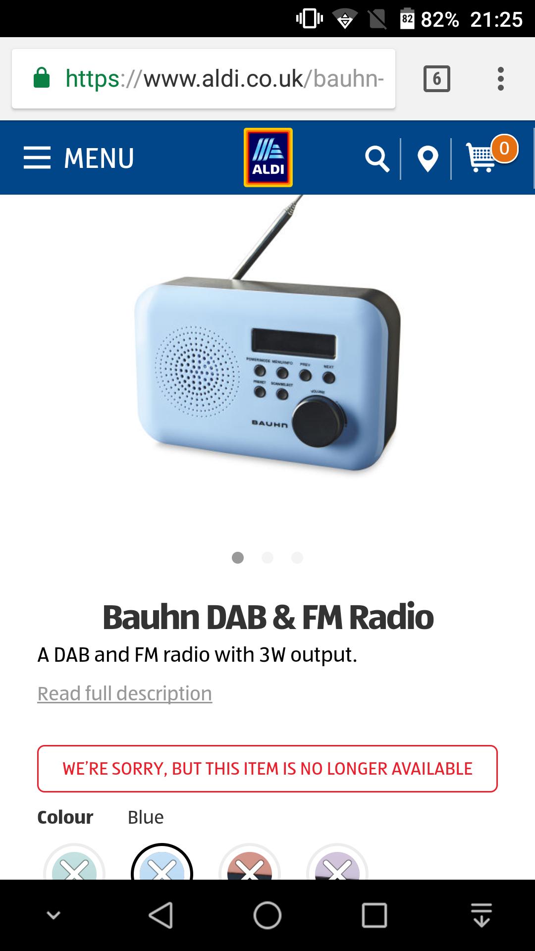 bauhn portable dab and fm radio aldi hotukdeals. Black Bedroom Furniture Sets. Home Design Ideas