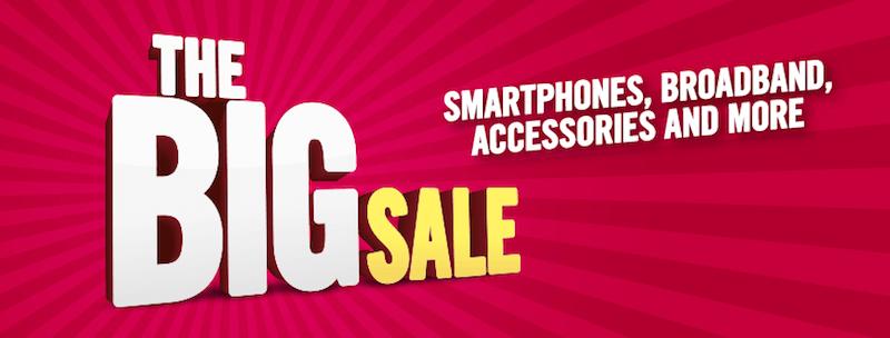 the big sale smartphones broadband accessories and more