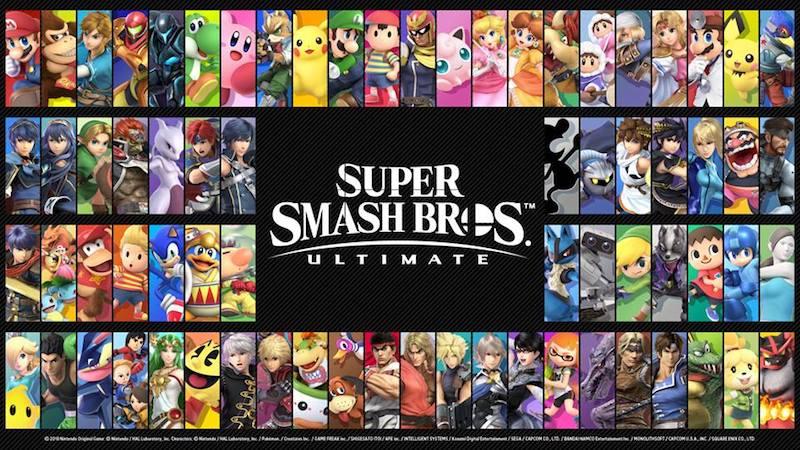 Super Smash Bros Playable Characters