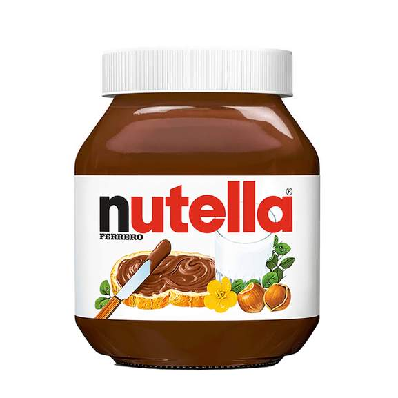 nutella spread jar