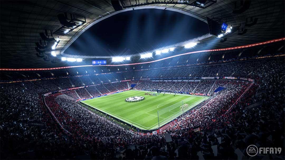 Bayern Munich's Allianz Arena in Fifa 19