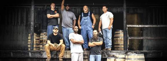 picture showing the real people who are producing the jack daniels whiskey