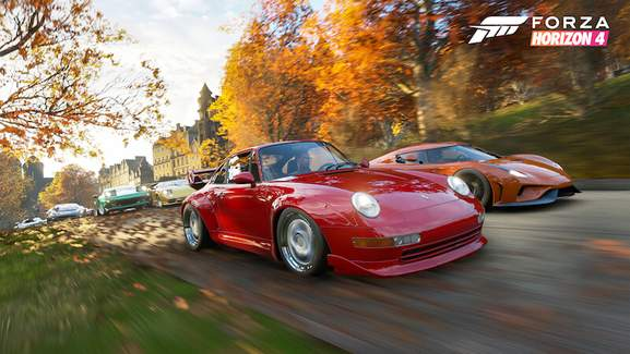 Forza Horizon Red Porsche 911