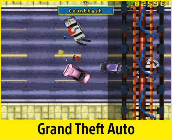 Grand Theft Auto on the PlayStation Classic