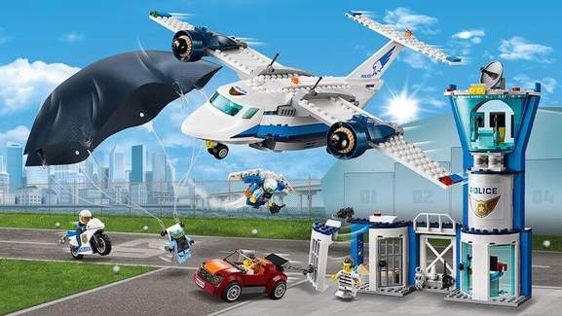Lego City police set