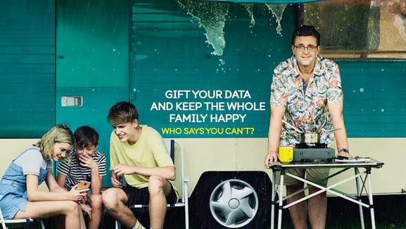 ee banner gift your data and keep the whole family happy who says you can't