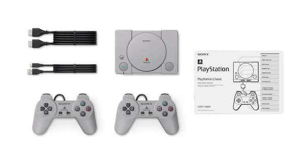 The contents of the PlayStation Classic