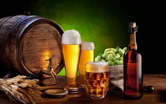beer brewing ingrediences