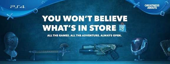 playstation banner you won't believe what's in store
