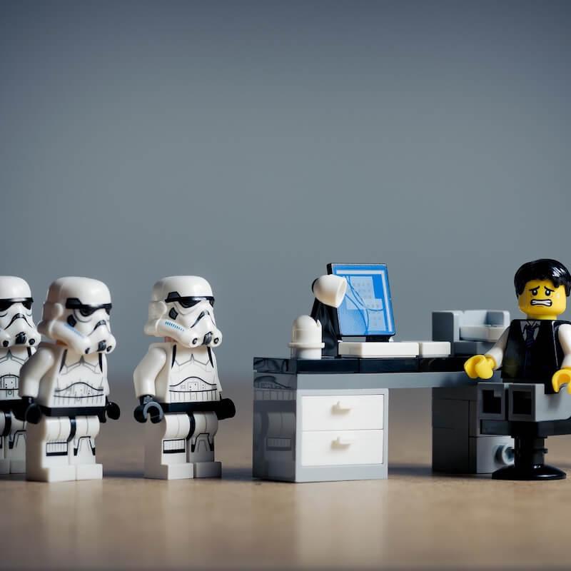 Lego Star Wars stormtrooper figures
