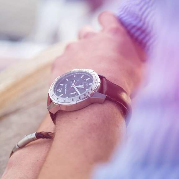 Michael Kors Men's Watch on Man's wrist