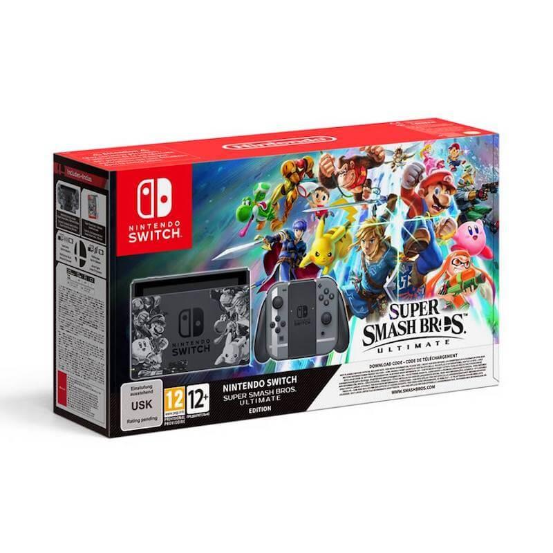 Super Smash Bros Ultimate Nintendo Switch Bundle