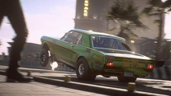 Green car in Need for Speed Payback