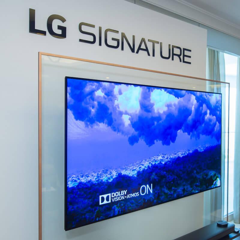 lg signature led tv