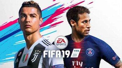 New FIFA19 cover of Ronaldo and Neymar