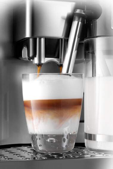 coffee machine milk frother