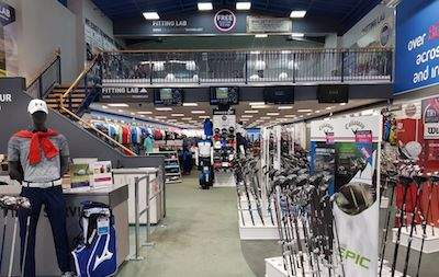 American Golf retail from the front