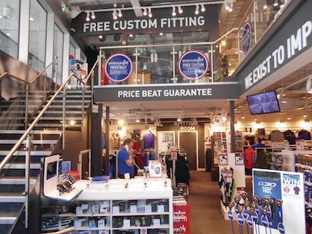 American Golf london store