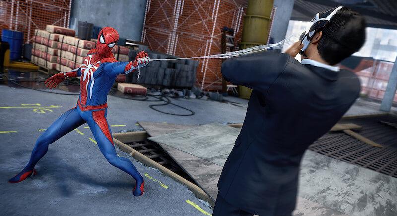 spider-man fights an inner demon enemy
