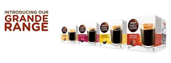 dolce gusto pods the grand range