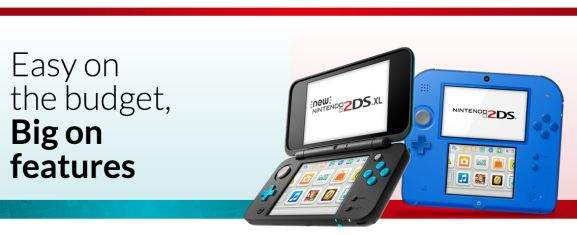 nintendo 2ds easy on the budget big on features