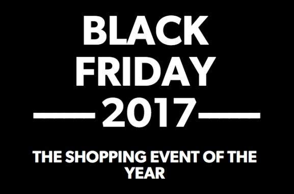black friday 2017 shopping event of the year