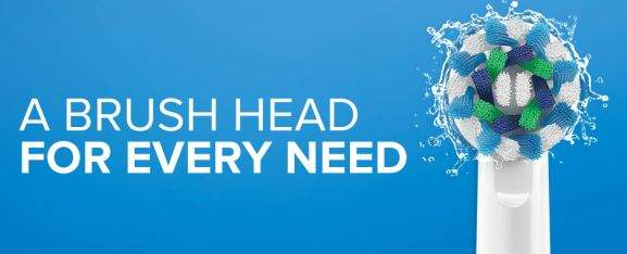 oral b a brush head for every need
