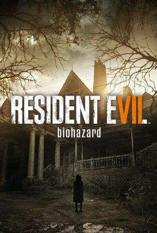 resident evil biohazard 7 girl standing in front of an abandoned house