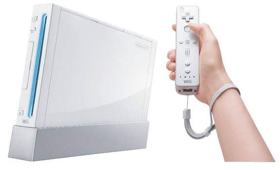 original nintendo wii console in white