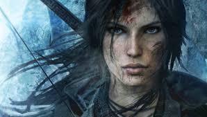 Tomb Raider's fierce look