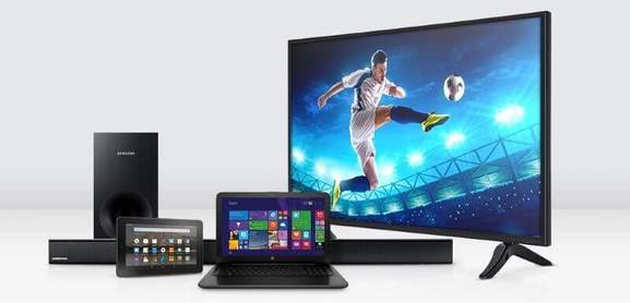 tesco direct technology product range tv, laptop, tablet, soundbar and loud speaker