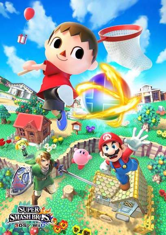 Super Smash Bros Characters Battling