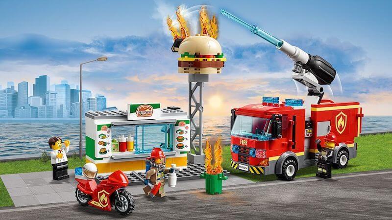 Lego City fire engine set