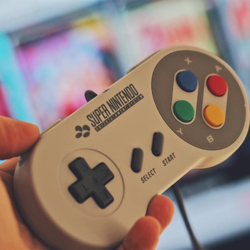 Super Nintendo Entertainment System (SNES) mini