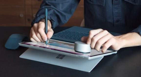 Microsoft Surface Accessories Surface Pen and Surface Dial