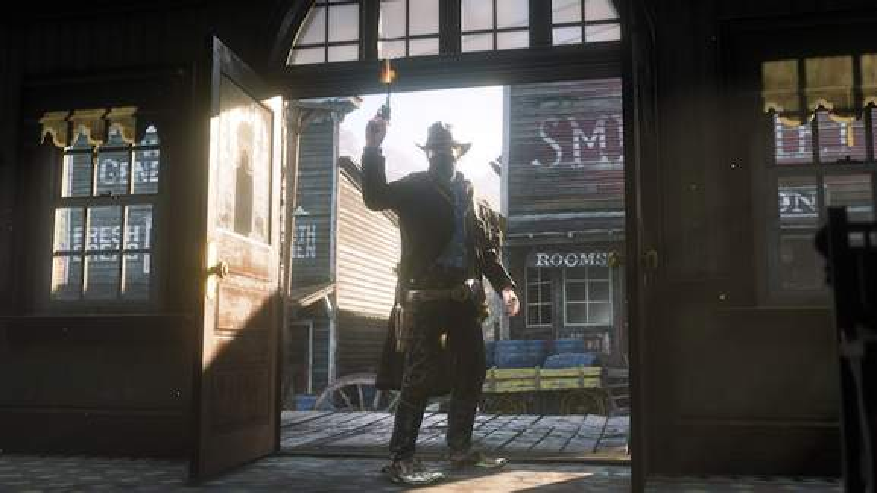 RD2 saloon shootout